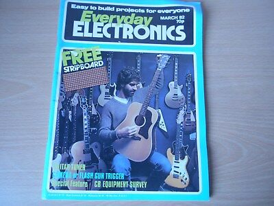 Everyday Electronics Vintage March 1982