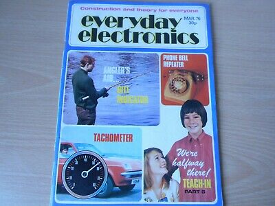 Everyday Electronics Vintage March 1976