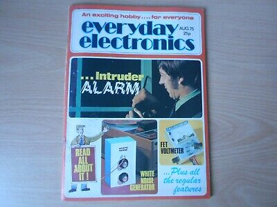 Everyday Electronics Vintage August 1975