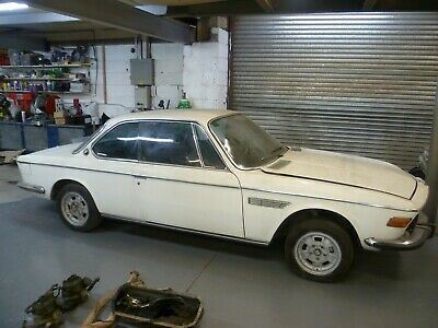 Bmw E9 3.0 Cs Coupe Manual Project Barn Find Very Rare