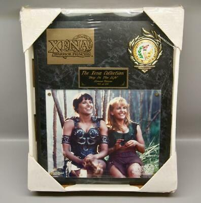 XENA: WARRIOR PRINCESS PLAQUE #54 of 250 • LUCY LAWLESS / RENEE O'CONNOR • NEW