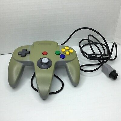 Nintendo 64 N64 Grey Controller Original OEM Official Authentic Faded Not Tested