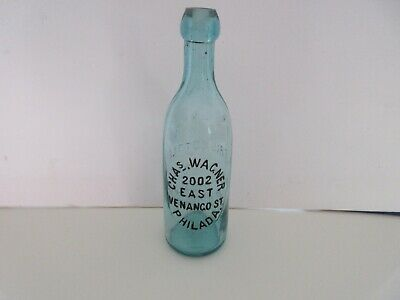 Chas. Wagner Antique Beer, Soda Bottle Philadelphia