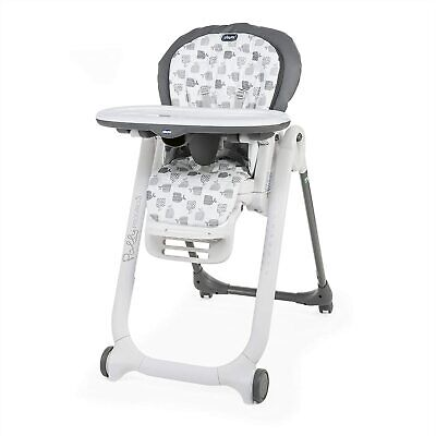 Brand new Chicco Polly progress 5 in 1 highchair in Grey from birth to 3 years