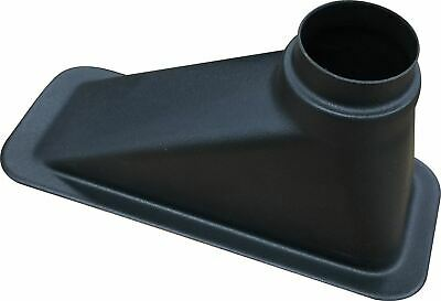 Revotec 255 x 80mm Rectangular Air Intake Duct 63/76mm Offset Outlet