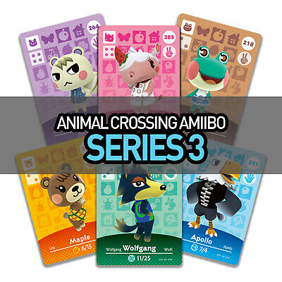 NEW Animal Crossing Amiibo Cards - Series 3 201-300 | Switch | 3DS | Nintendo UK