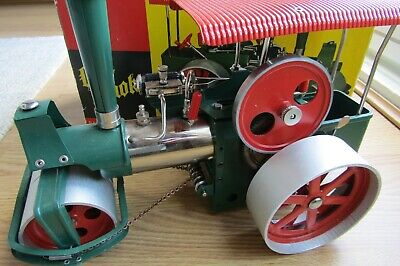 Wilesco Steam Roller D36 vintage 1970s boxed