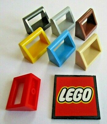 Part 2432 SELECT COLOUR 10 Pack of NEW LEGO Tiles 1x2 with Handle FREE POST