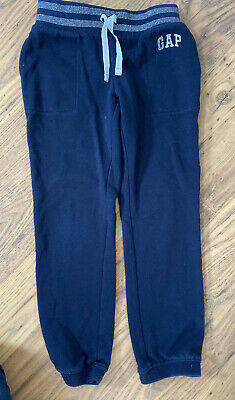 Age 6-7 years GAP Kids girls jogging bottoms Navy Blue With Glitter Waist Band!