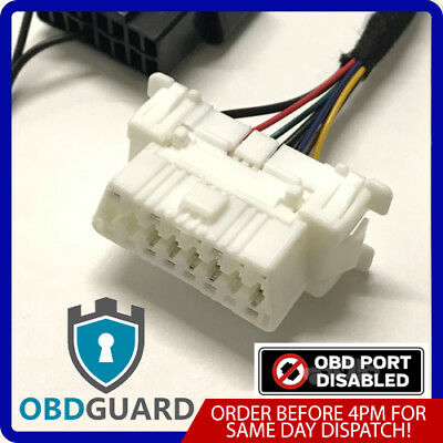 Ford Focus Fiesta Transit Obd Guard Dummy Port Security Block Lock Anti Theft