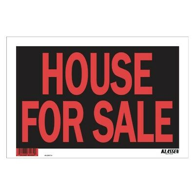 """8"""" x 12"""" High Impact House For Sale Sign"""