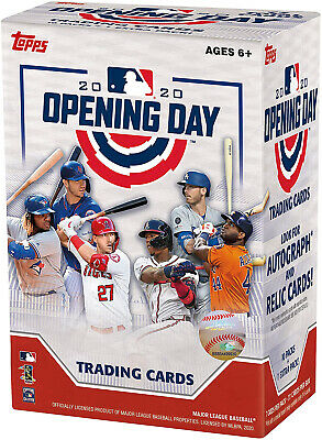 Topps 2020 Opening Day Baseball Retail Value Box