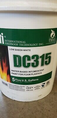 DC315 Intumescent Coating for Spray Foam - Fire retardant paint