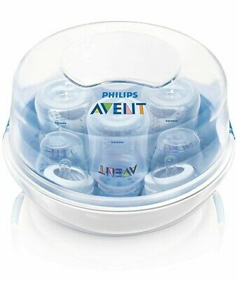 Philips Avent Microwave Steam Baby Bottle Sterilizer 3 in 1 (Used)