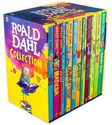 Roald Dahl Collection 15 Books Boxed Set RRP £97