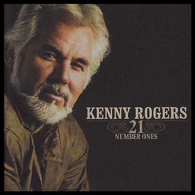 KENNY ROGERS - 21 NUMBER ONES D/Remastered CD ~ GREATEST HITS / BEST OF *NEW*