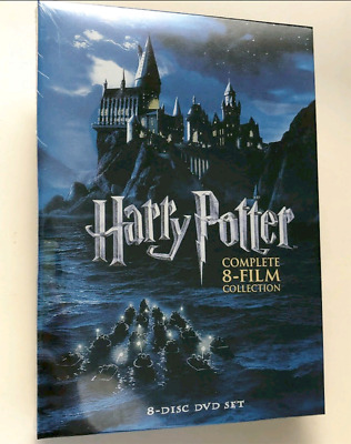 Harry Potter Complete 8-Film Collection (DVD, 2011, 8-Disc Set) Brand New Sealed