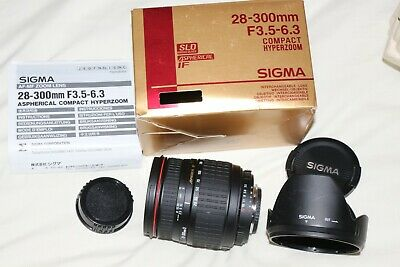 Sigma 28-300mm Compact Hyperzoom Lens For NIKON AF-D   Please Read Description