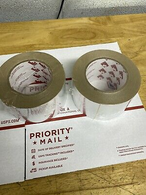 2 Pack New Aluminum Foil Tape - 3 in. x 50 yds for HVAC, Air Ducts, Insulation