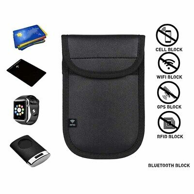 1x Lock Car Key Keyless Entry Anti-Theft Fob Signal Blocker Pouch Bag Case UK