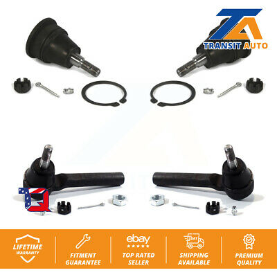 Front Ball Joint Tie Rod End For Dodge Grand Caravan Chrysler Town & Country Ram