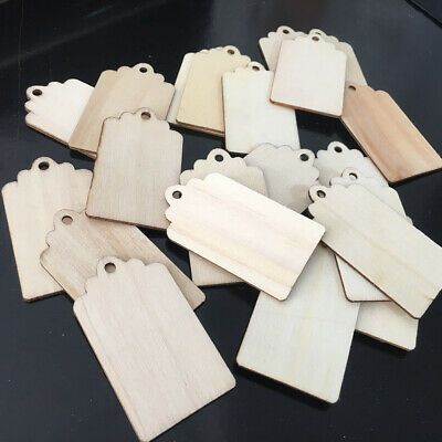 Wooden Luggage Gift Tags Jar Labels Wedding Tags Christmas Tags Attendance Card