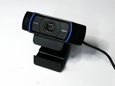 Logitech Logi Full Hd Pro Webcam C920 1080P Usb Camera W/ Stereo Audio Pc/Mac