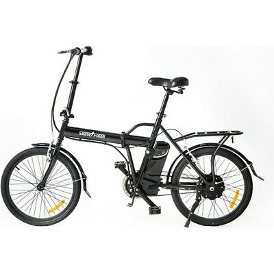 Bicicleta Electrica Folding E-Bike Negro