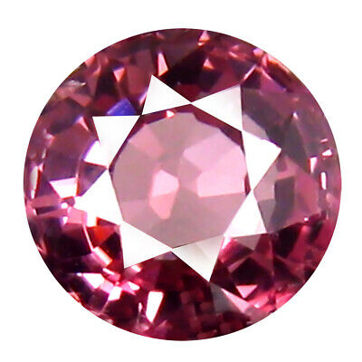 1.03 CT AAA + Marvelous Forme Ronde (6 X 6 mm) Rose Malaya Gemme Grenat