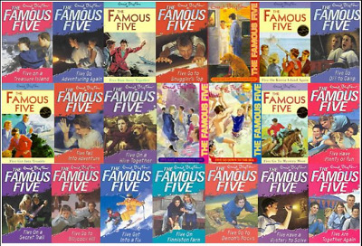 Famous Five series 21 AUDIOBOOKS (MP3) By Enid Blyton 📧⚡ Email Delivery(10s)⚡📧