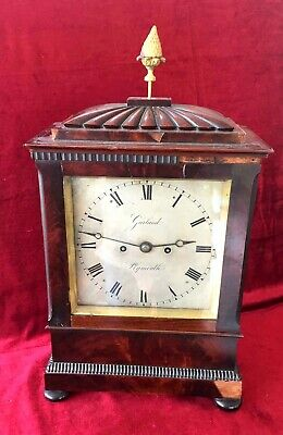 Stunning Quality Regency Double Fusee Bracket Clock By Garland