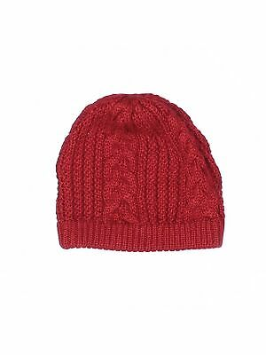 Fownes Women Red Beanie One Size