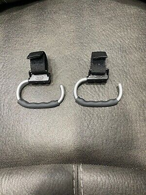 Pair of OXO Tot Handy Stroller Hooks, Grey, New