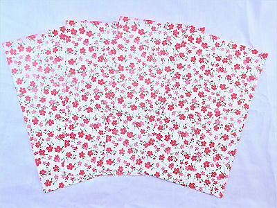 100 Pink Flowers Designer 6x9 Mailers Poly Shipping Envelope Boutique Bags
