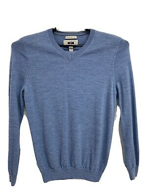 GAP LAINE MERINO Homme Pull Col V Manches Longues Gris Hong