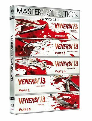 FRIDAY THE 13th Collection, Parts 2, 3, 4, 5 & 6..x5 DVDS..