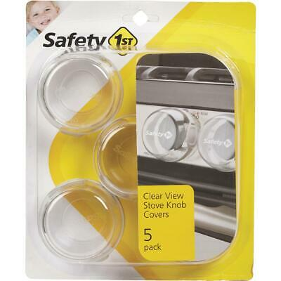Safety 1st Clear View Plastic Stove Knob Covers (5-Pack) 48409  - 1 Each