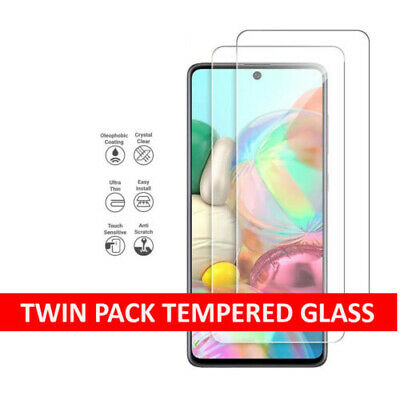 Tempered Glass Screen Protector Cover For Samsung Galaxy A51 A71