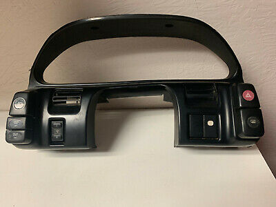 89-94 Nissan 240SX Gauge Cluster Suround Bezel With Switches