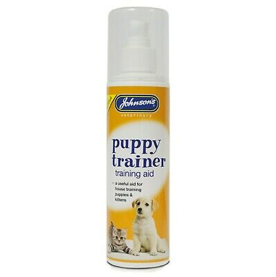 Johnsons Puppy & Kitten Trainer House Training Pets 150 ML  [A028] New Improved