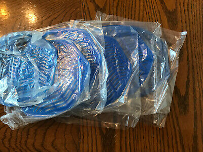 (6) NEW - IMPACT URINAL SCREENS WINTER FROST Sealed Packaging-Free Same Day Ship