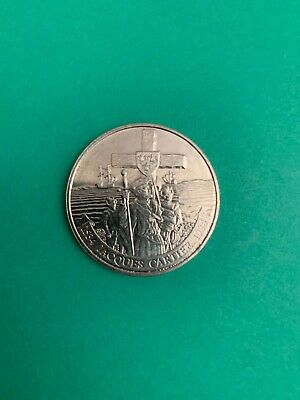 1984 Jacques Cartier Commemorative $1 Coin (circulated)