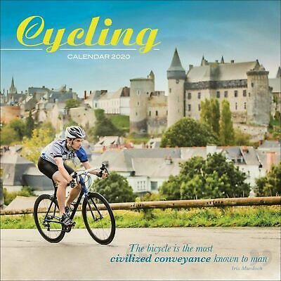 Cycling 2020 Official Square Wall Calendar (Brand New/Sealed)