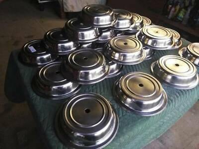 21 Commercial Stainless Dish Covers. 10 3/4