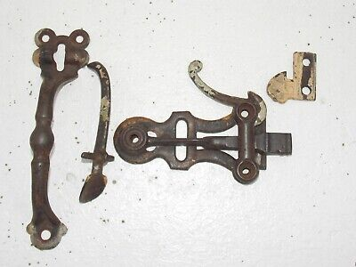 Antique Thumb Latch Door Gate Fence Handle Hardware 1800'S Original
