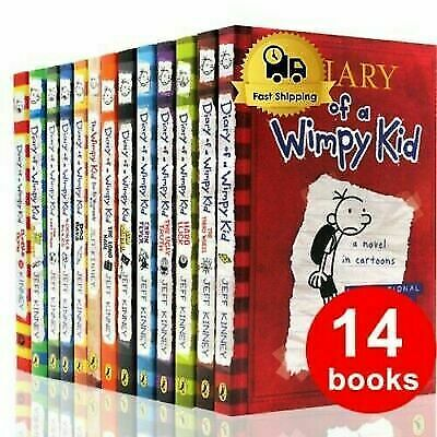 Diary Of A Wimpy Kid Complete Collection ✅ Set By Jeff Kinney [E-EDITION]