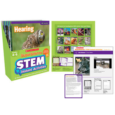 Scholastic Teaching Resources - Superscience G 4-6 Tallo Instantáneo Actividades