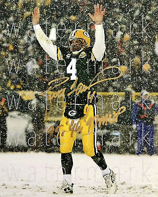 Brett Favre Packers MVP Green Bay signed 8X10 photo picture poster autograph RP