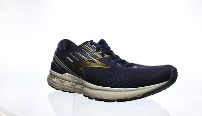 Brooks Mens Adrenaline Gts 19 Navy/Gold/Grey Running Shoes Size 11 (1228251)
