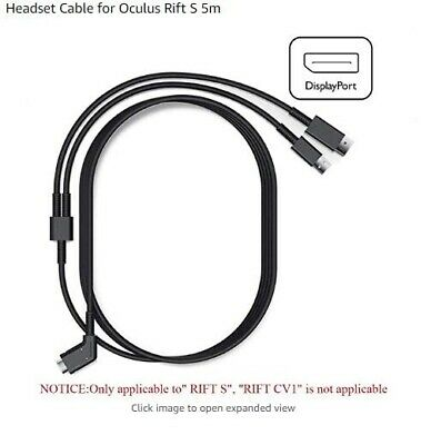 Genuine Headset Cable Oculus Rift S Optical Headset Cable (5m) For VR Glasses